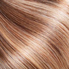 Ombre Brown/Honey Blonde Clip In Remy Hair Extensions
