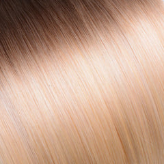 Ombre Medium Ash Brown/Beach Blonde Tape In Remy Hair Extensions