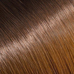 Ombre Off Black/Chestnut Brown Tape In Remy Hair Extensions