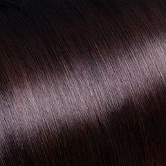 Ombre Natural Black/Chocolate Brown Clip In Remy Hair Extensions