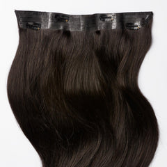 Black Brown Halo Hair Extensions