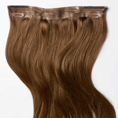 Chestnut Brown Halo Hair Extensions