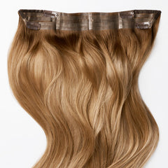 Caramel Bronde ColorMelt Halo Hair Extensions