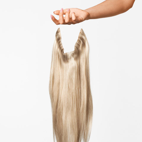 Cendre Ash Blonde Mix Halo Hair Extensions