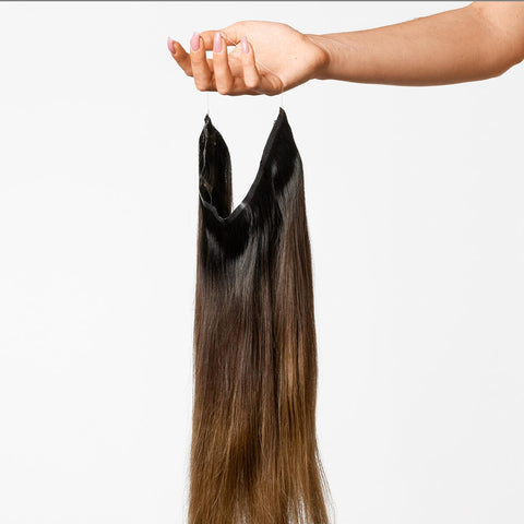 Deep Brown ColorMelt Halo Hair Extensions