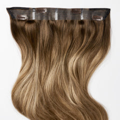 Natural Brown ColorMelt Halo Hair Extensions