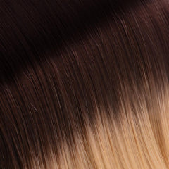 Ombre Dark Brown/Golden Blonde Tape In Remy Hair Extensions