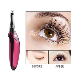 Heated Eyelash Curler Electric Rechargeable Portable Curling