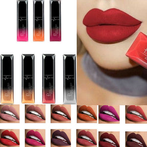 21 Colors Matte Moisturizing Lip Gloss Waterproof Non-stick Cup Lip Balm