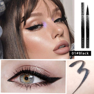 Waterproof Liquid Eyeliner Black | Brown Beauty Makeup Long-lasting Eye Liner Pencil