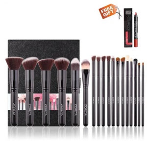 18PCS Professional Make Up Brush Kits Cosmetic Set