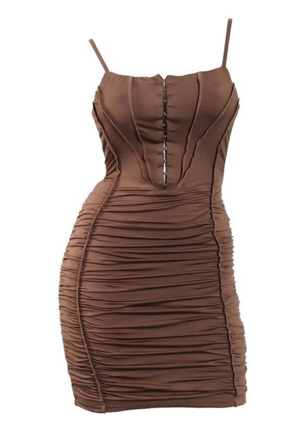 "The ""Ashley"" Ruched Dress"