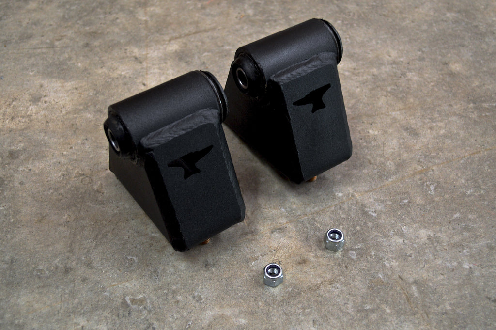 "4.0 Motor Mounts 1"" Lift"