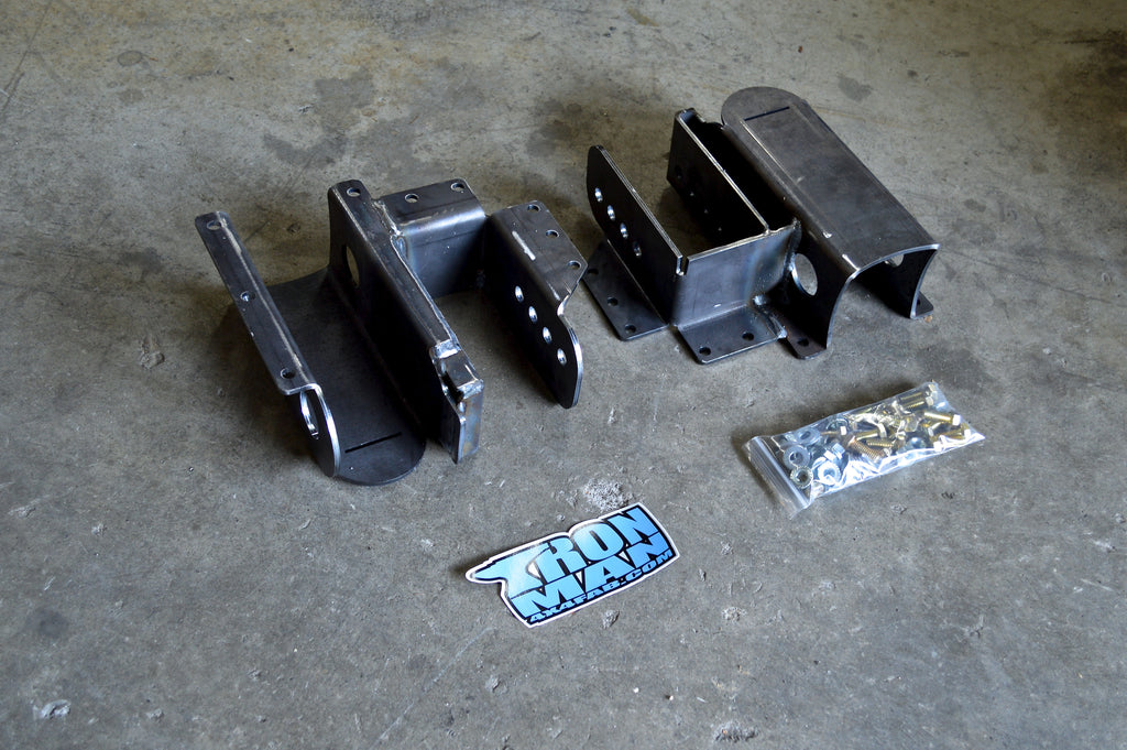 XJ Leaf Spring Mount Stretch Kit