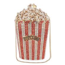 Load image into Gallery viewer, Crystal POPcorn Clutch