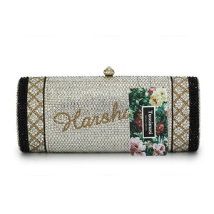 Fatima Crystal Clutch