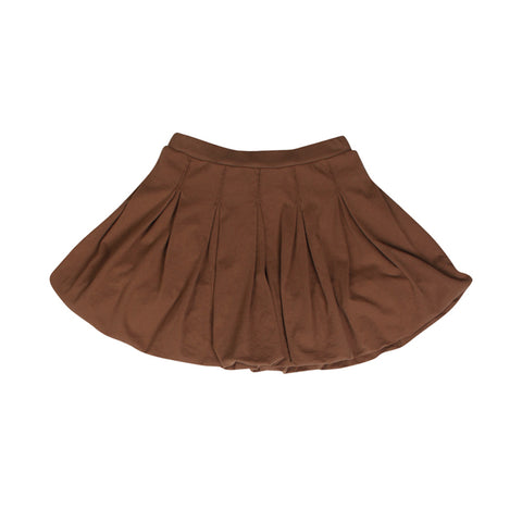 Bubble Bubble Skirt - Cocoa - Mimobee