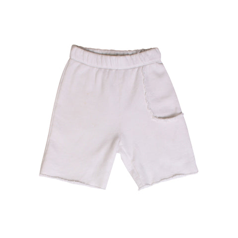 Del Mar Pkt Shorts - White - Mimobee