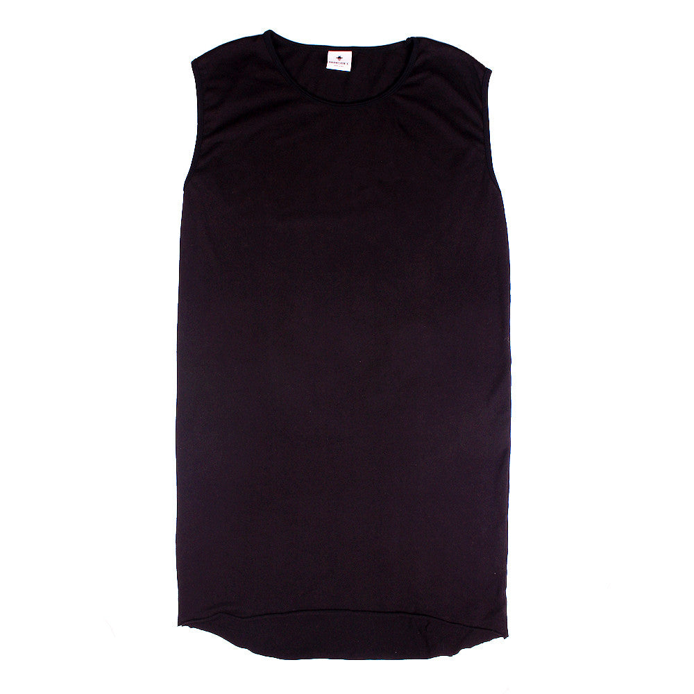 Slouchy Muscle Tunic - Black