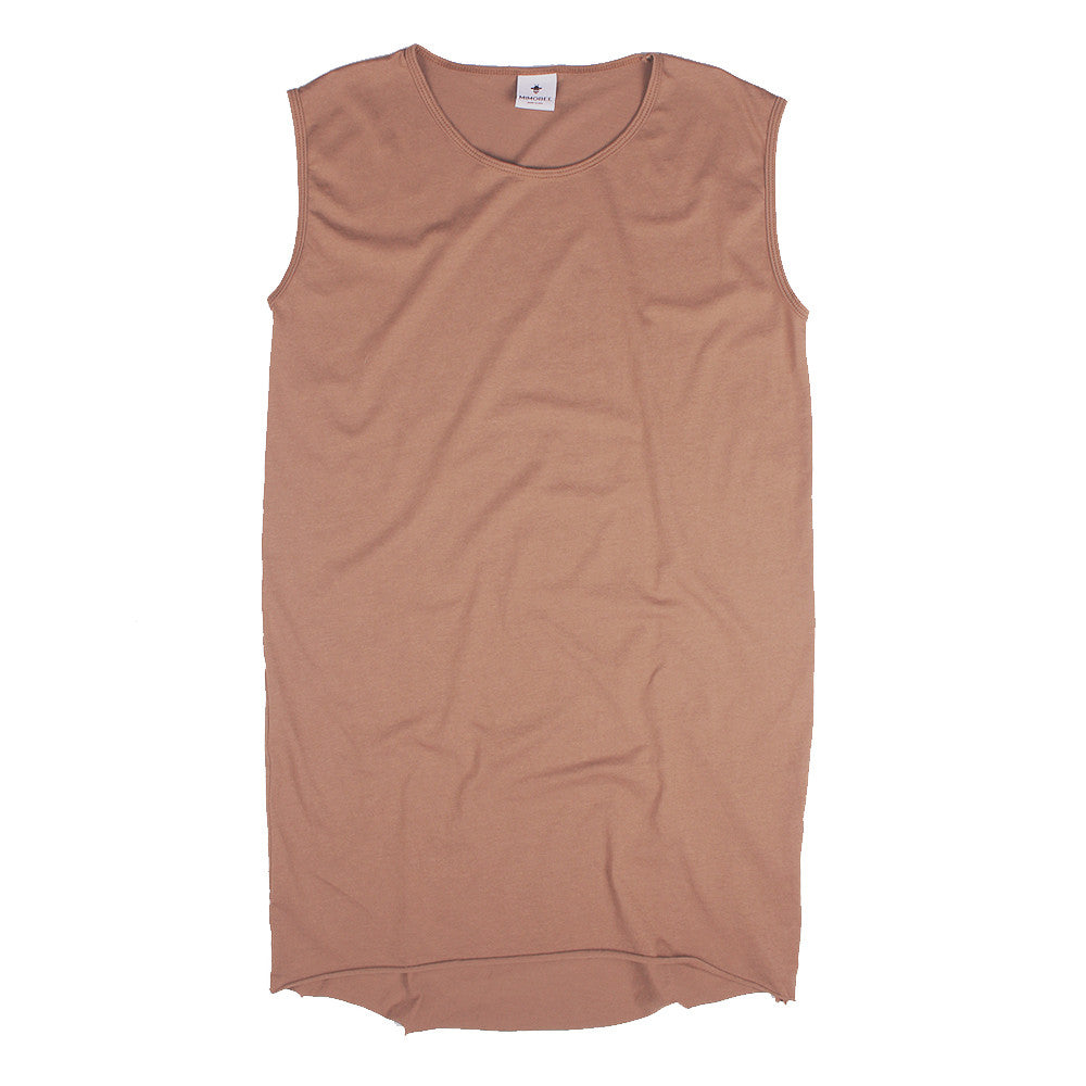 Slouchy Muscle Tunic - Cocoa
