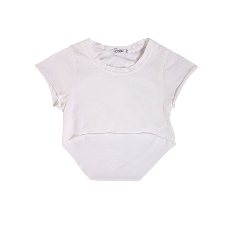 Chillers Crop Tee - White