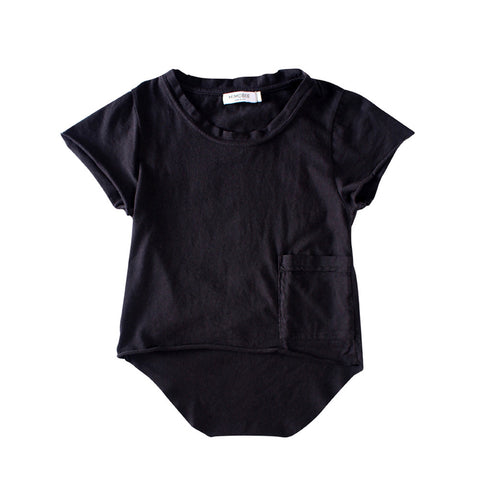 Chillers Tail Back Tee - Black - Mimobee