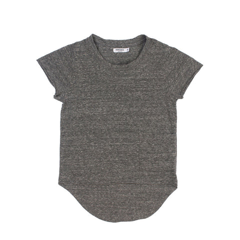 Chillers Tail Back Tee - Heather Grey