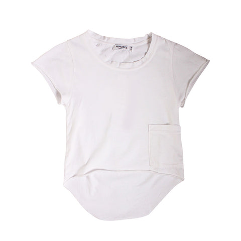 Chillers Tail Back Tee - White - Mimobee