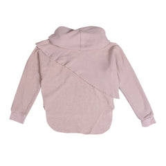 Cutaway Layered Sweat - Cloudy Grey - Mimobee
