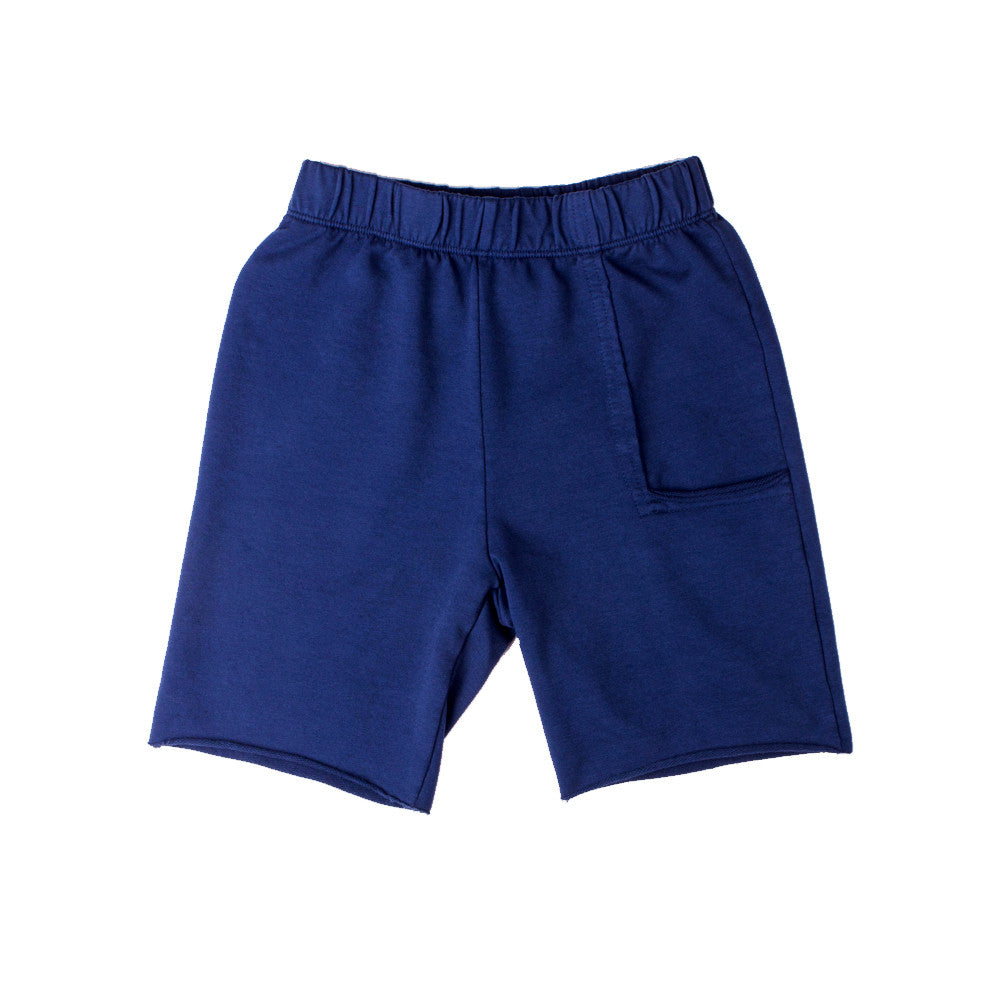Del Mar Pkt Shorts - Navy (F.Terry) - Mimobee