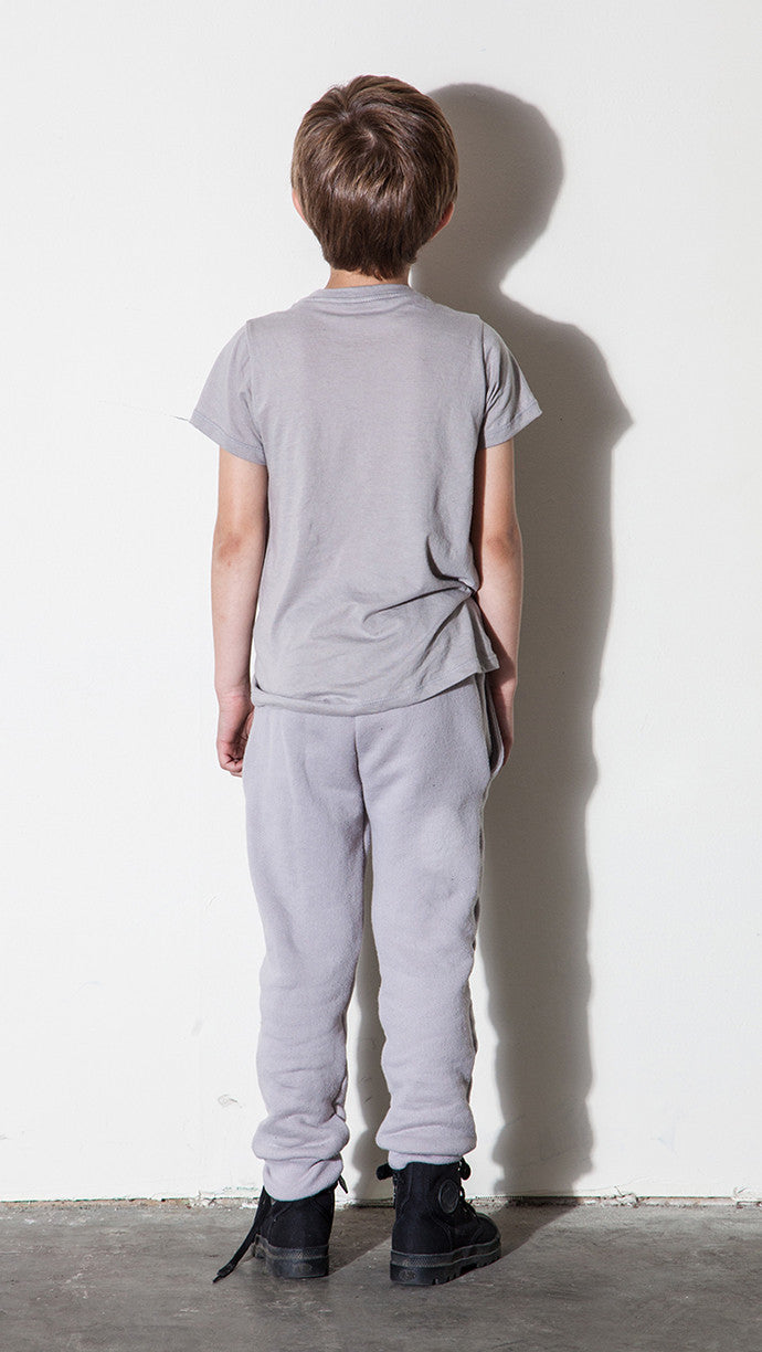 Track Pants - Silver (Unisex) - Mimobee