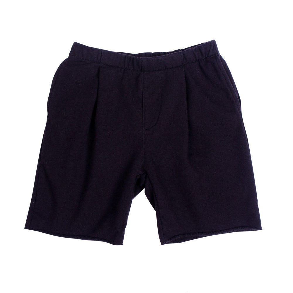 Lolo Pleat Shorts - Black - Mimobee
