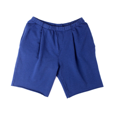 Lolo Pleat Shorts - Navy