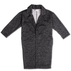 Long Coat - Black Speckle
