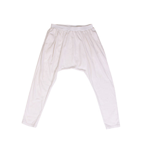 Loungy Leggings - White