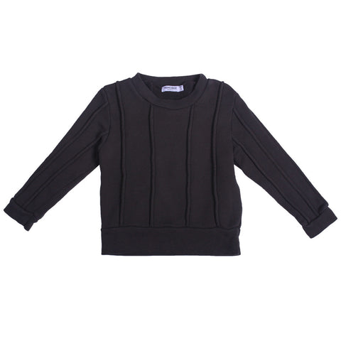 Rugger Piped Sweat - Charcoal - Mimobee