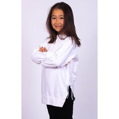Side Strap Sweat - White - Mimobee