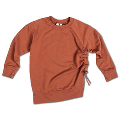 Side Strap Sweat - Leather Brown - Mimobee