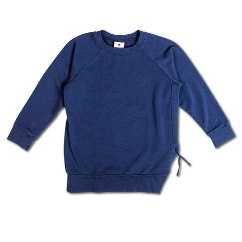 Side Strap Sweat - Navy