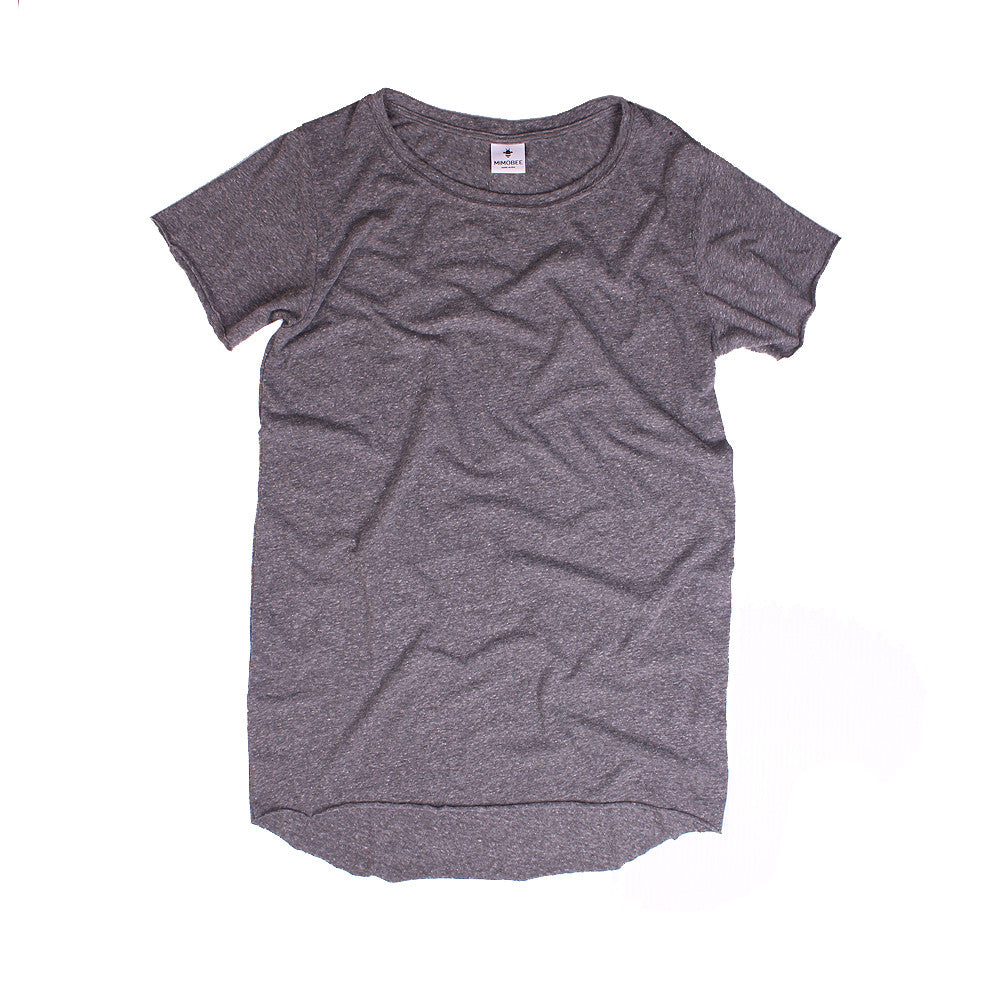 Slouchy SS Tee - H. Grey