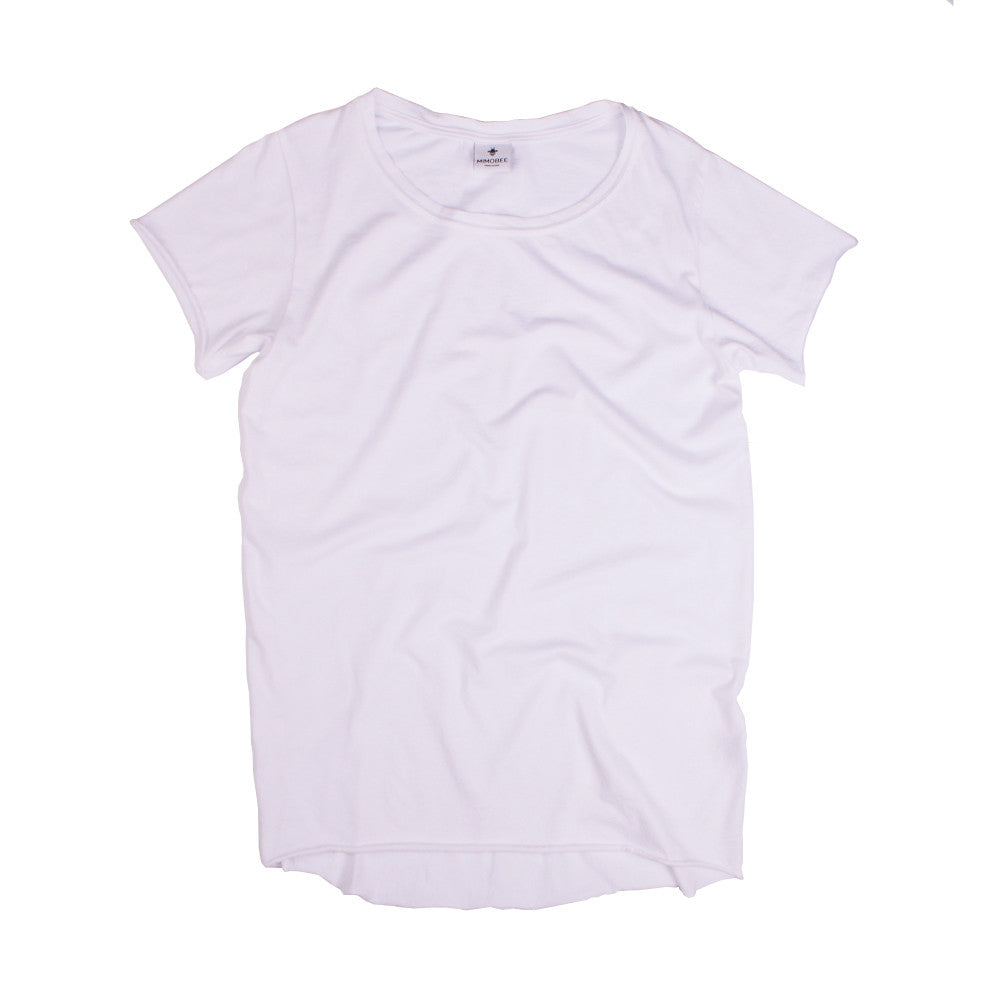 Slouchy SS Tee - White