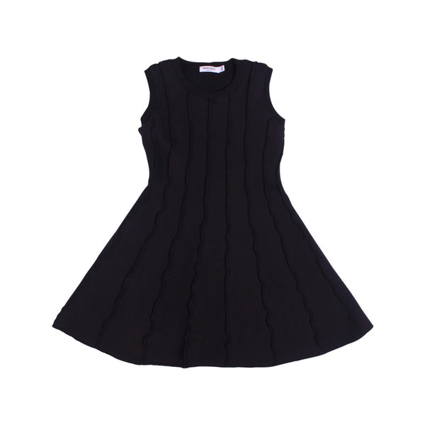 Soho Panel Dress - Black