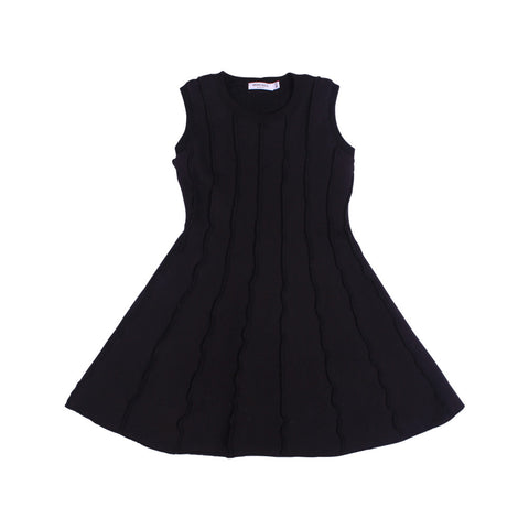 Soho Panel Dress - Black - Mimobee