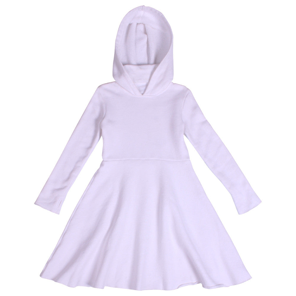 Sweet Ninja Dress - White - Mimobee