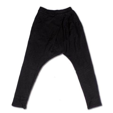 Loosey Goose Pleat Pants -  Black