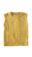 Too Tough Muscle Tee - Yellow - Mimobee