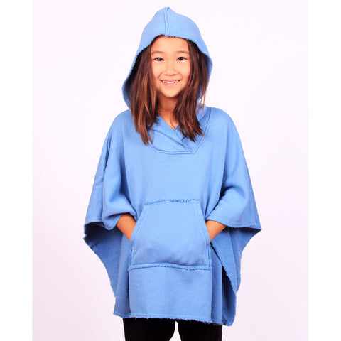 Obi Wan Poncho - London Blue - Mimobee