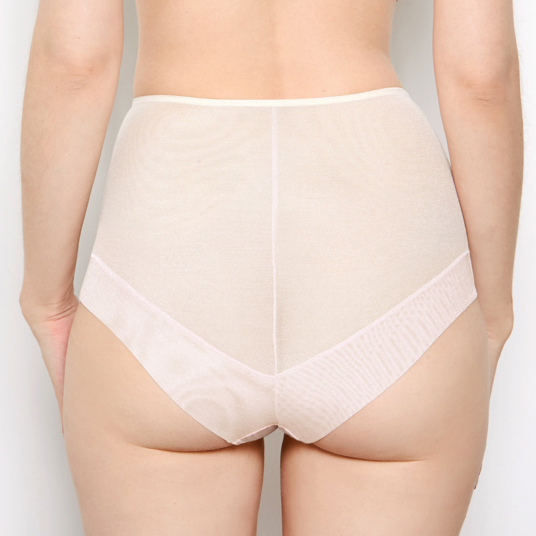 Abrielle Chalk High Waisted Knickers