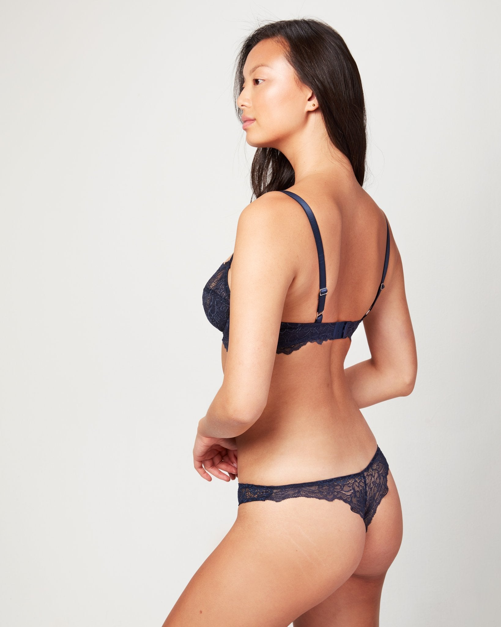 Bowery Scalloped Thong