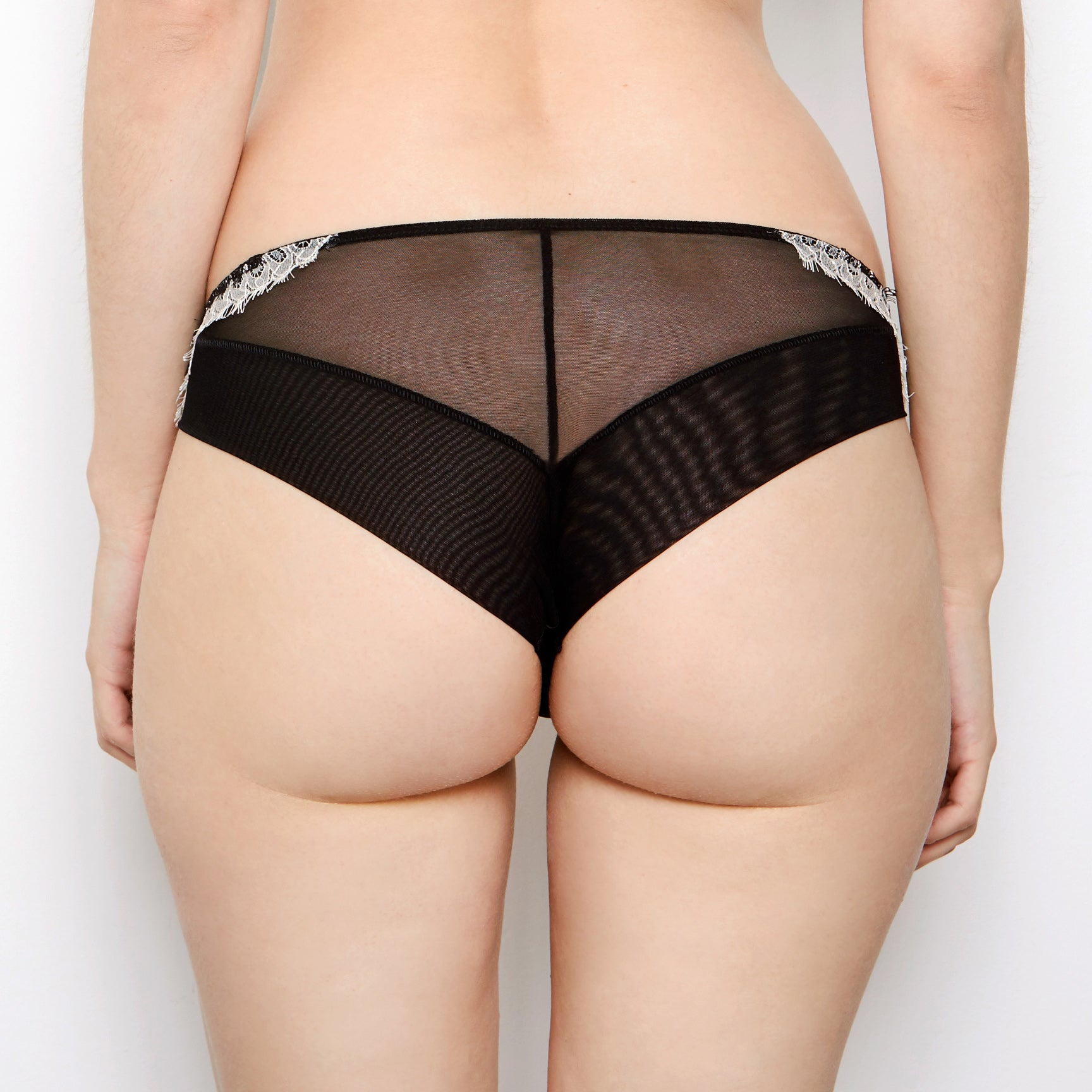 Mariella Black French Lace Knickers